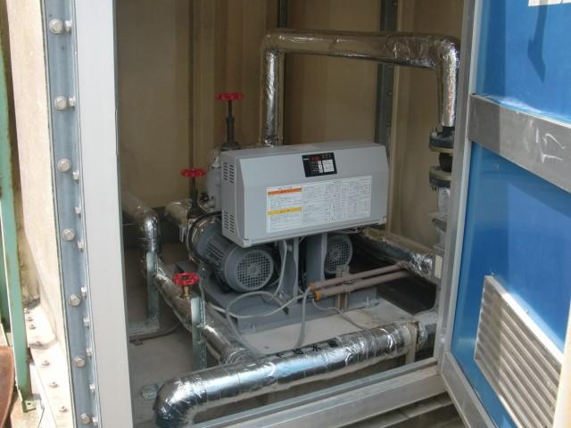 14.5 平和発篠㈱篠山工場 給水ユニット取替2