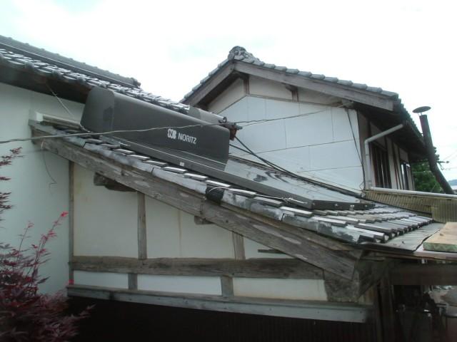 08.5 N様邸 太陽熱温水器取替工事2